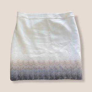 WH|BM Skirt with Embroidery
